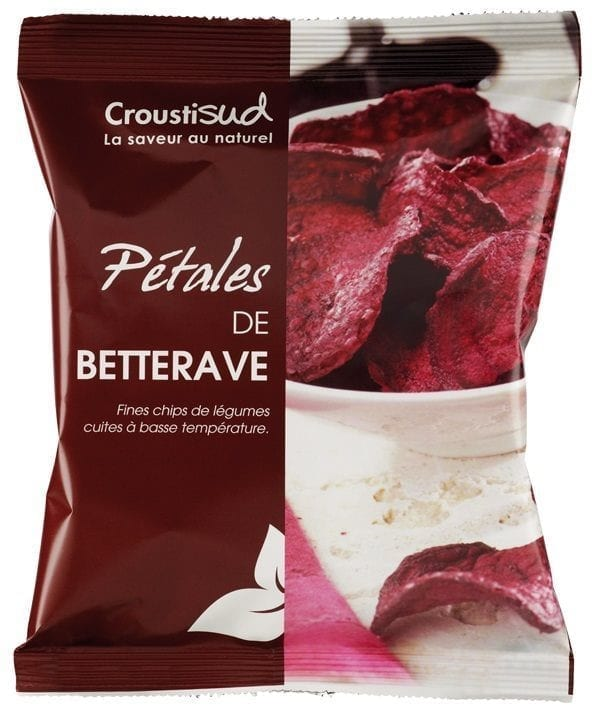 Rødbede chips, 70g - Økotaste - Økologiske specialiteter