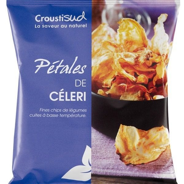 Selleri chips (sæson), 70g - Økotaste - Økologiske specialiteter