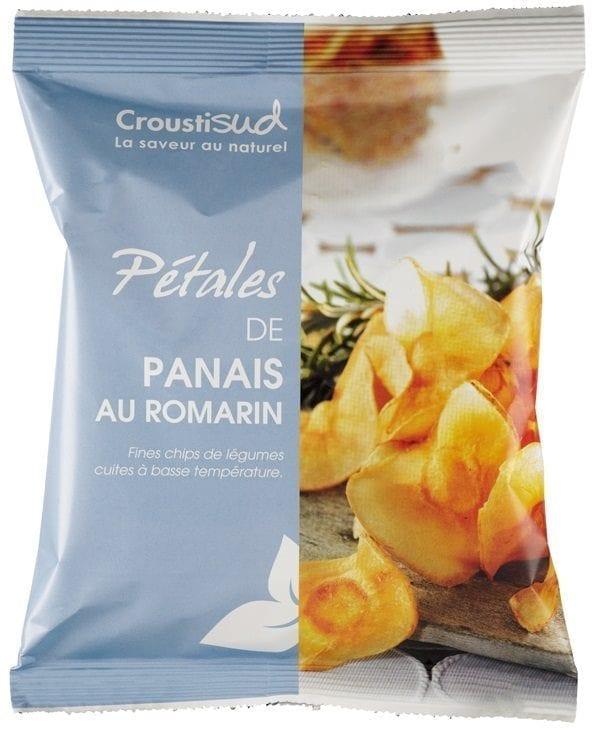 Pastinak chips med rosmarin (sæson), 70g - Økotaste - Økologiske specialiteter