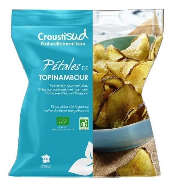 Jordskokke chips 70g - Økotaste - Økologiske specialiteter