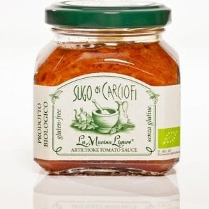Artiskok/tomat sauce, 180g - Økotaste - Økologiske specialiteter