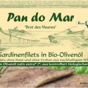 Makrel fileter i økologisk olivenolie 120g - Økotaste - Økologiske specialiteter
