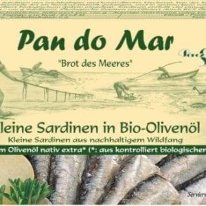 Makrel fileter i økologisk tomatsauce 120g - Økotaste - Økologiske specialiteter