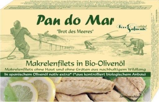 Små sardiner i økologisk olivenolie 120g - Økotaste - Økologiske specialiteter
