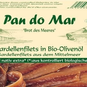 Ansjoser i økologisk olivenolie 50g - Økotaste - Økologiske specialiteter