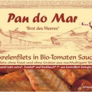 Makrel i økologisk tomatsauce 525g - Økotaste - Økologiske specialiteter