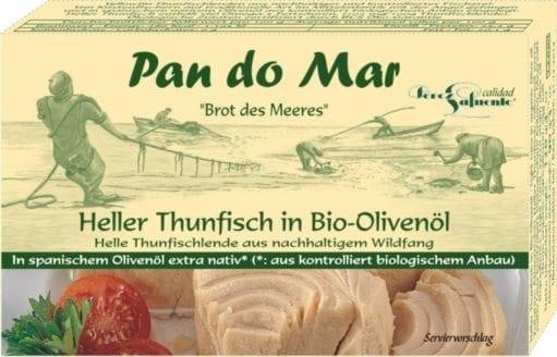 Lys tun i økologisk olivenolie 525g - Økotaste - Økologiske specialiteter