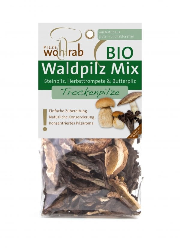 Skovsvampemix tørret 30g - ØkoTaste - Økologiske specialiteter