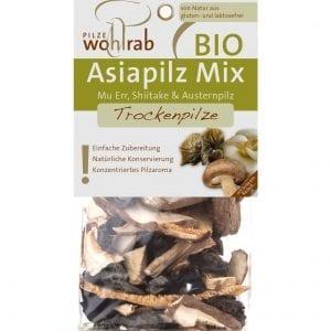 Asiasvampemix tørret 30g - ØkoTaste - Økologiske specialiteter
