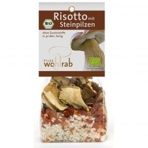 Risotto med tørret champignon - ØkoTaste - Økologiske specialiteter