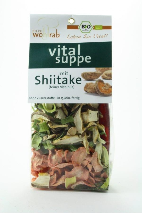 Svampesuppe med Shiitake 50g - Økotaste - Økologiske specialiteter