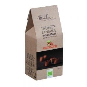 Trøffelchokolade m/hasselnød - ØkoTaste - Økologiske specialiteter