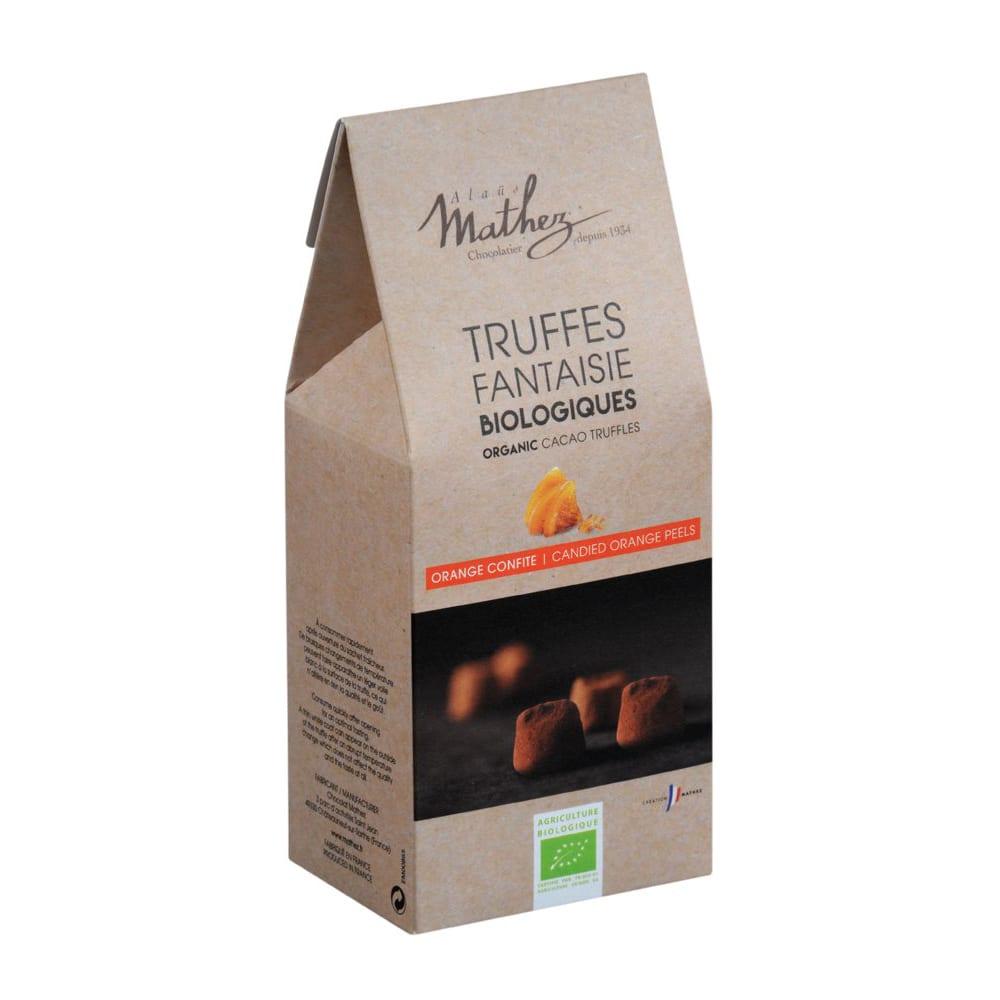 Trøffelchokolade m/appelsin - ØkoTaste - Økologiske specialiteter