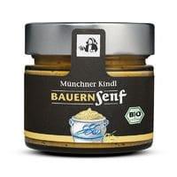 """Grov sennep m/hele korn """"Bauernsenf"""", 180ml - Økotaste - Økologiske specialiteter"""
