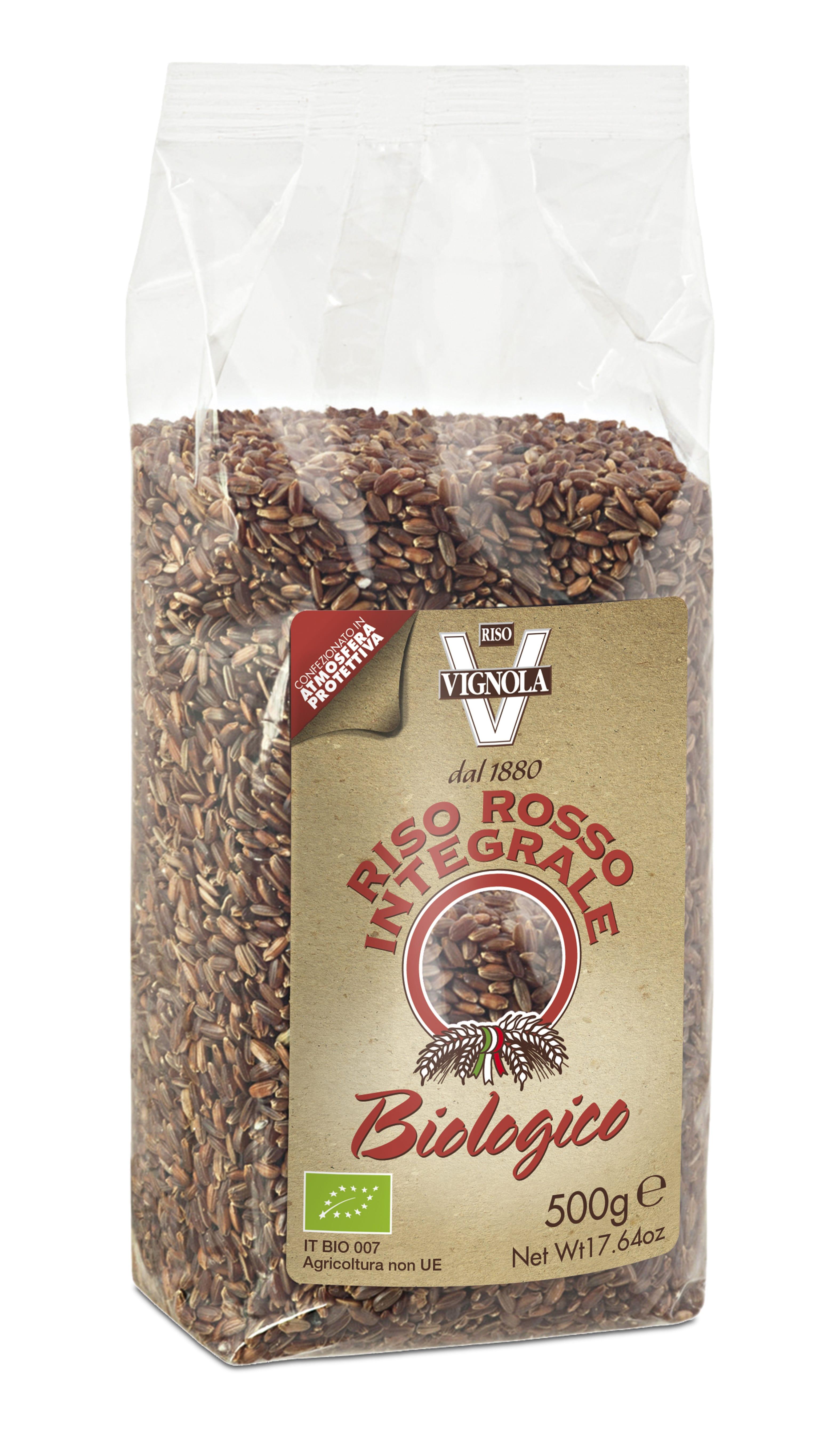Røde ris 500g - Økotaste - Økologiske specialiteter