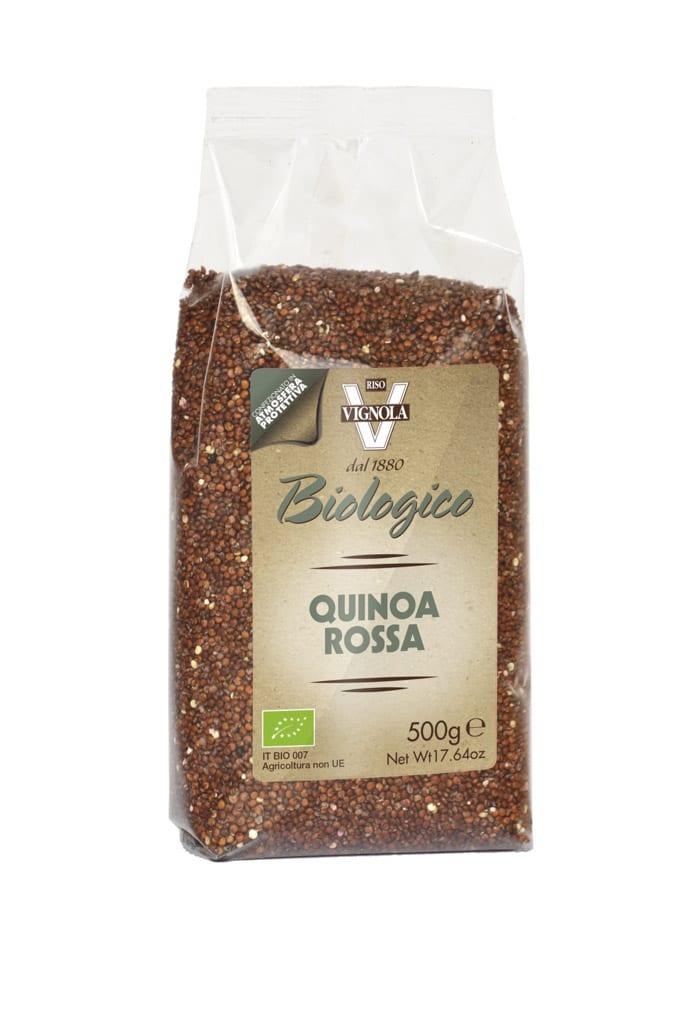 Quinoa rød 500g - Økotaste - Økologiske specialiteter