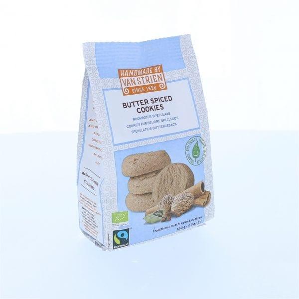 Smørbagte småkager m/krydderier 140g - ØkoTaste - Økologiske specialiteter