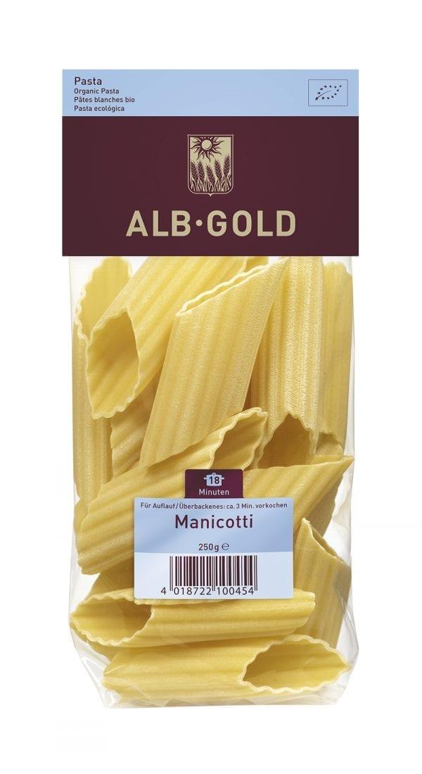 Alb-Gold Manicotti - ØkoTaste - økologiske Specialiteter