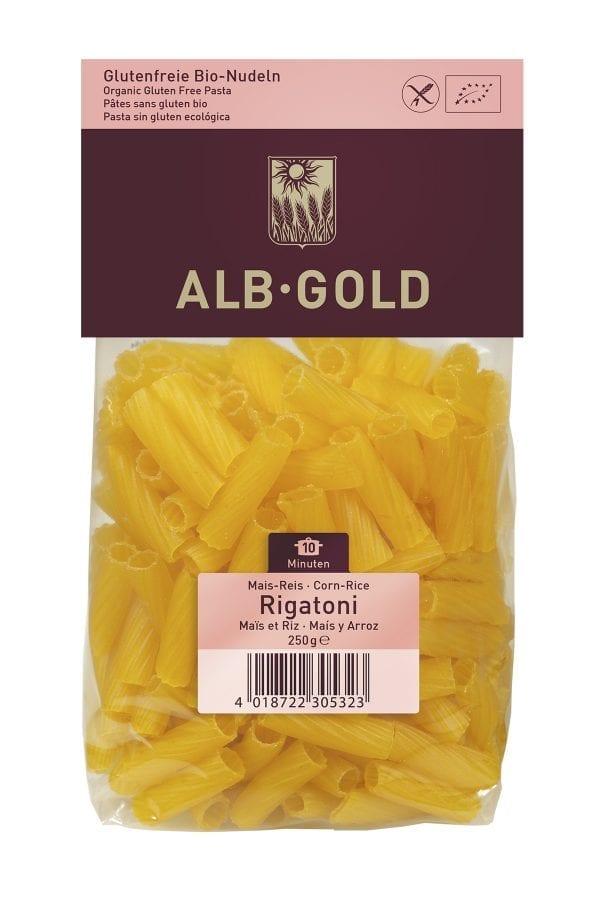 Alb-Gold rigatoni Majs-ris - ØkoTaste