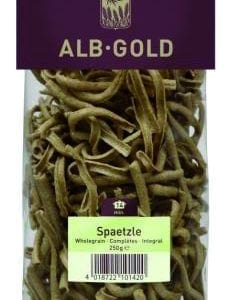 Alb-Gold spätzle - ØkoTaste