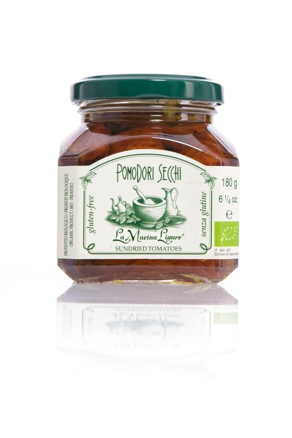 La Macina Ligure soltørrede tomater - ØkoTaste - Økologiske specialiteter