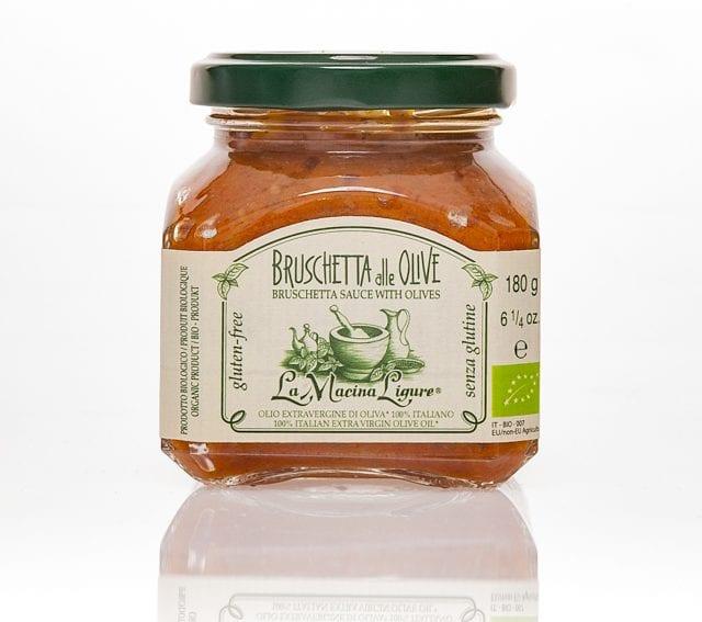 La macina Ligure Bruschettasauce m. oliven - ØkoTaste - Økologiske specialiteter