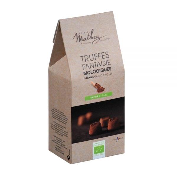 Mathez trøffelchokolade natur - ØkoTaste - økologiske Specialiteter