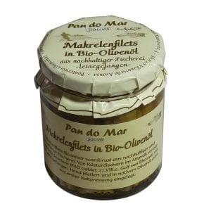 Pan do Mar Makrelfilet i olivenolie 220g - ØkoTaste - Økologiske specialiteter