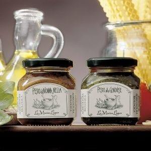 2 glas pesto di Nonna Nella og alla Genovese- Økotaste - Økologiske specialiteter