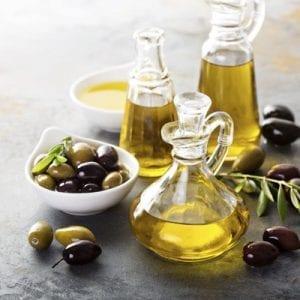 Olive oil in vintage bottles - Økotaste - Økologiske specialiteter