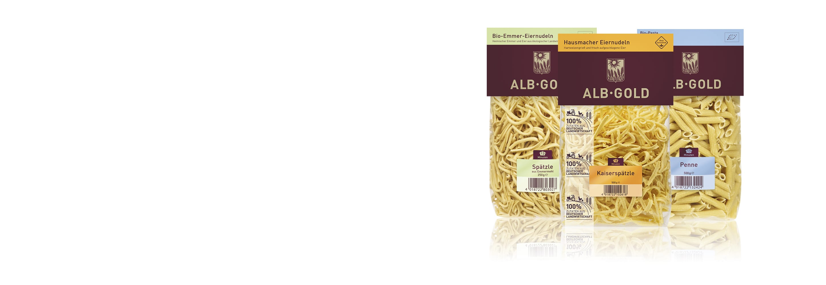 Alb-gold pasta - ØkoTaste - Økologiske specialiteter