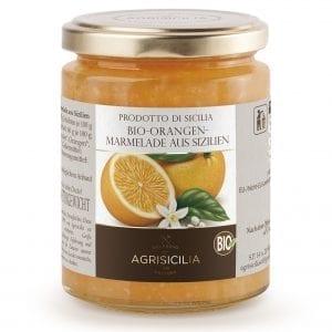 Økologisk marmelade og syltetøj fra Sicilien - Økologisk appelsinmarmelade (42% frugt) - Økotaste