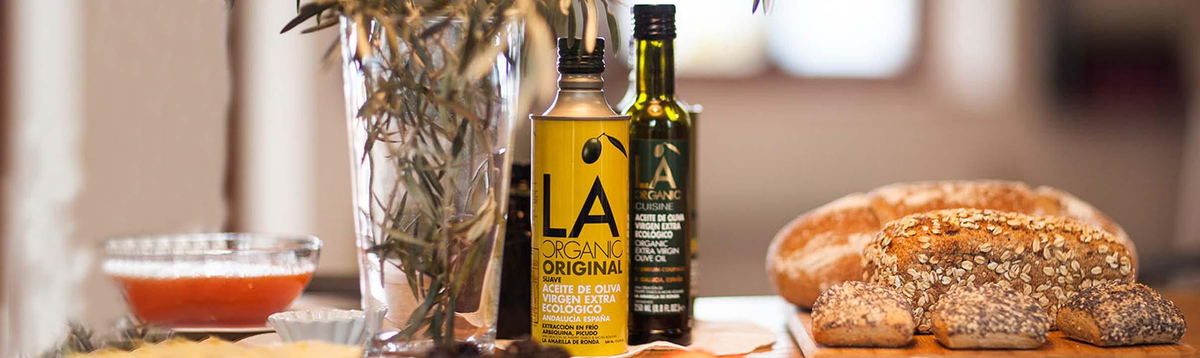 La Organic olivenolier stemningsbillede