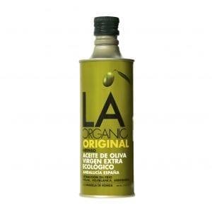 Varenr. 1061 LA ORGANIC INTENSE, ekstra jomfru olivenolie 500ml